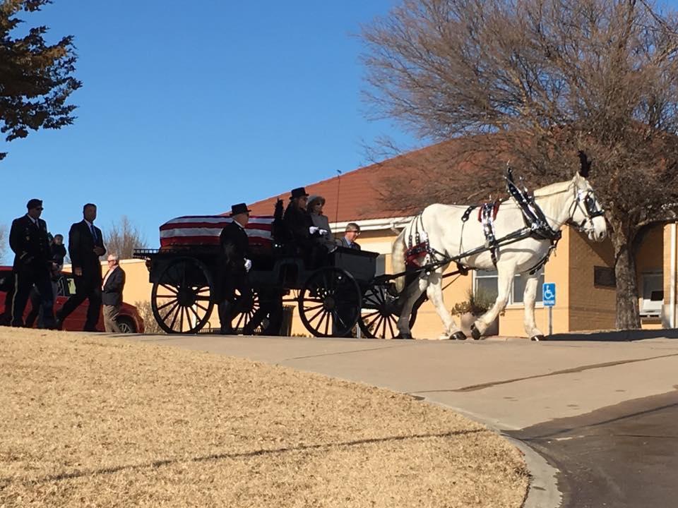 Honoring Terry Cash Fort Dodge Kansas November 2018